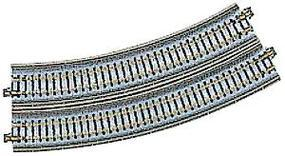 Kato Single Track Viaduct - Curved (R13 3/4 - 30) N Scale Nickel Silver Model Train Track #20531