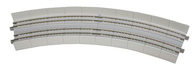Kato USA Inc Unitrack CT Double-Track Superelevated Curve -- N Scale Nickel Silver Model Train Track -- #20545