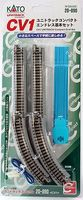 Kato Unitrack Roadbed Track CV-1 Compact Oval Set N Scale Nickel Silver Model Train Track #20890