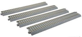 Kato Straight Track w/Concrete Ties - Unitrack HO Scale Nickel Silver Model Train Track #2152