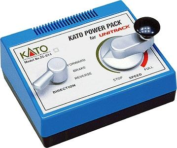 Kato USA Inc Unitrack Power Pack -- HO Scale Model Train Power Supply Transformer -- #22014