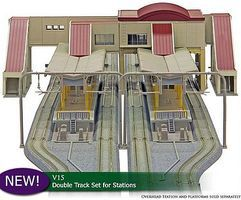 Kato Overhead Transit ExpanSet N Scale Model Railroad Building #23123
