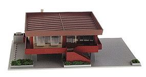 Kato Mamas Seafood Restaurant N Scale Model Railroad Building #23406