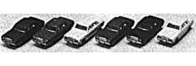 Kato Toyota Sedans Automobile Set pkg(6) N Scale Model Railroad Vehicle #23500