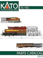 Kato N/HO Scale Parts Catalog Model Railroading Catalog #25200