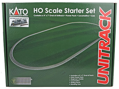 Kato USA Inc Starter Set EMD SD80MAC Norfolk Southern -- HO Scale Model Train Set -- #302006