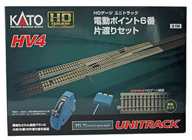 Kato HV4 Interchange Track Set HO Scale Nickel Silver Model Train Track #3114