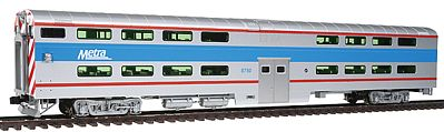 pullman bi level 4 window cab coach chicago metra ho scale model train passenger car 356025 by. Black Bedroom Furniture Sets. Home Design Ideas