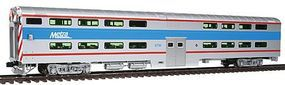 Kato Pullman Bi-Level 4-Window Cab-Coach Chicago Metra HO Scale Model Train Passenger Car #356025
