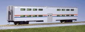 Kato Pullman Bi-Level 4-Window Coach Amtrak (Phase III) HO Scale Model Train Passenger Car #356031