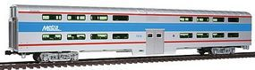 Kato Pullman Bi-Level 4-Window Coach Chicago Metra #7836 HO Scale Model Train Passenger Car #356036