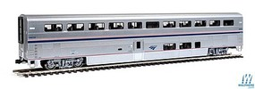 Kato Superliner I Coach Ready to Run Amtrak 34030 (Phase IV, silver, blue, red)