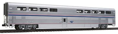 Kato USA Inc Superliner I Diner Amtrak #38037 (Phase IVb) -- HO Scale Model Train Passenger Car -- #356072