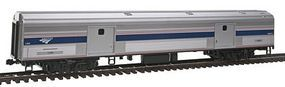 Kato Budd 73' Baggage Ready to Run Amtrak #1206 HO Scale Model Train Passenger Car #356201