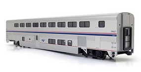 Kato Superliner II Transition Sleeper - Ready to Run Amtrak 39027 (Phase IVb, silver, blue, red)