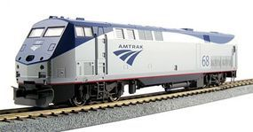 Kato GE P42 Genesis - Standard DC Amtrak #68 (Phase Vb, silver, blue, red, Low Stripe) - HO-Scale