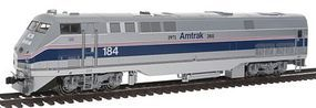 Kato GE P42 Genesis - Standard DC - Amtrak #184 HO Scale Model Train Diesel Locomotive #376107