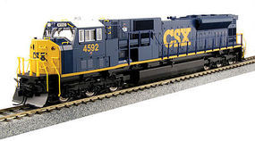 Kato EMD SD80MAC CSX #4592 HO Scale Model Train Diesel Locomotive #376372