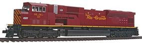 Kato EMD SD90/43MAC San Luis & Rio Grande #115 HO Scale Model Train Diesel Locomotive #376390