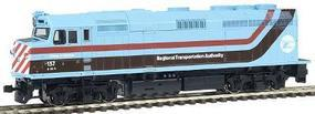 Kato EMD F40PH Chicago Regional Transportation HO Scale Model Train Diesel Locomotive #376562