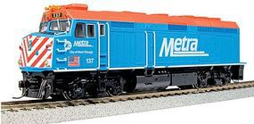 Kato EMD F40PH Commuter Version Chicago Metra #137 HO Scale Model Train Diesel Locomotive #376571
