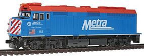 Kato EMD F40PH Commuter Version Chicago Metra #163 HO Scale Model Train Diesel Locomotive #376573