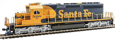 Kato EMD SD40-2 Mid-Production (Standard DC) Santa Fe #5088 HO Scale Model Railroad #376617