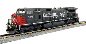Kato GE C44-9W DCC Southern Pacific 8104 (gray, red, Speed Lettering)