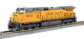 Kato GE C44-9W w/Snd UP #9632 - HO-Scale