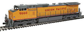 Kato GE C44-9W Union Pacific #9660 HO Scale Model Train Diesel Locomotive #376633