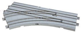 Kato Unitram Street Track Electric Turnout Left N Scale Model Train Roadway Accessory #40210
