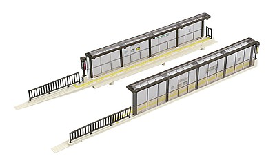 Kato USA Inc Unitram Tram Stop Kit - N-Scale