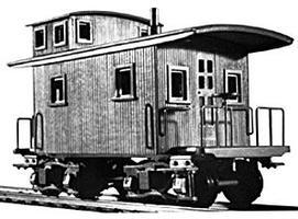 Keystone Logging Caboose Kit - HO-Scale
