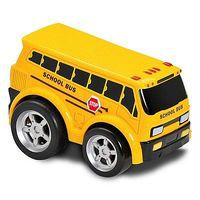 Kid-Galaxy School Bus Soft Pull Back