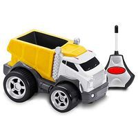 Kid-Galaxy R/C Dump Truck Soft Yellow 27MHz