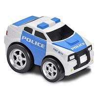 Kid-Galaxy Police Car Soft Pull Back