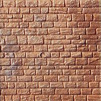 Kibri Cut Stone Wall Section Sheet HO-Scale Model Railroad Scratch #34118