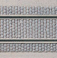Kibri Cobblestone w/Grooves for Track Plastic Sheet HO Scale Model Railroad Scratch #34125