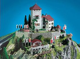 Kibri Castle w/Open Air Theatre - Z-Scale