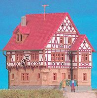Kibri Weincastell Hotel/Restaurant Kit Z Scale Model Railroad Building #36405