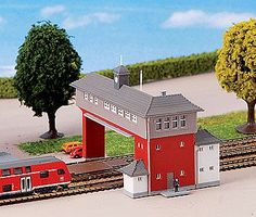Kibri Friedrichstal Signal Tower Kit Z Scale Model Railroad Building #36705