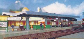 Kibri Modern Station Platform Kit Z Scale Model Railroad Building #36720
