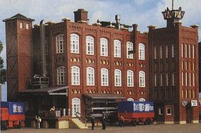 Kibri Factory Buildings ''Grunderzeit'' Kit Z Scale Model Railroad Building #36770