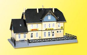 Kibri Post Office Kit Z Scale Model Railroad Building #36842