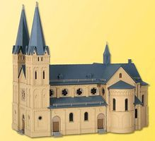 Kibri Church Kit N Scale Model Railroad Building #37025