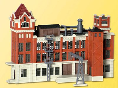 Kibri 1871 Factory Building Kit N Scale Model Railroad Building #37223