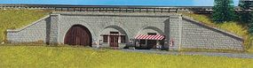 Kibri Retaining Walls w/Supporting Sections (Various Arch Printing) N Scale Model Railroad #37671