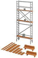 Kibri Scaffolding Kit HO Scale Model Railroad Building Accessory #38145