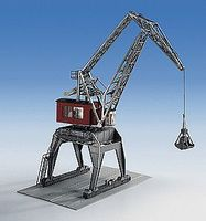 Kibri Over-Track Dockside Gantry Crane Kit HO Scale Model Railroad Building Accessory #38510