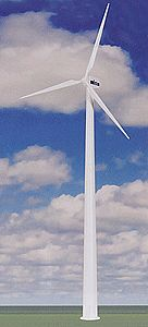 Kibri Wind Generator -- 17-5/8'' 44cm high - HO-Scale